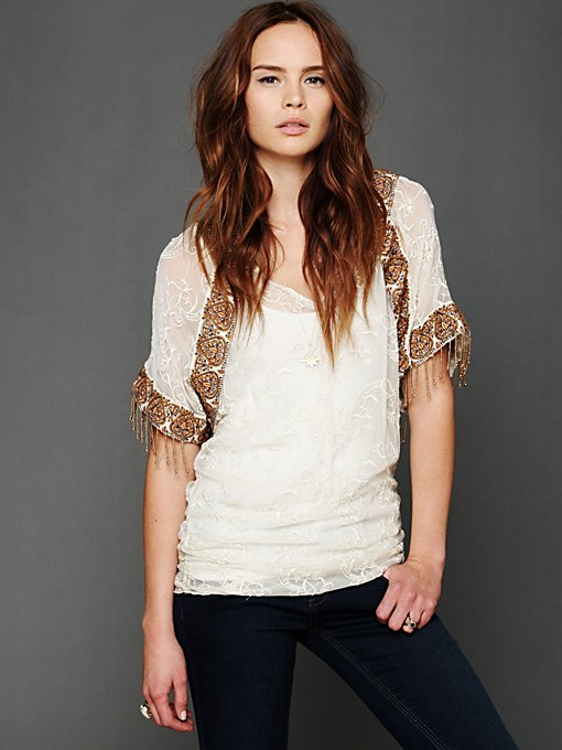 Entwined Embroidery Top in sale-sale-tops