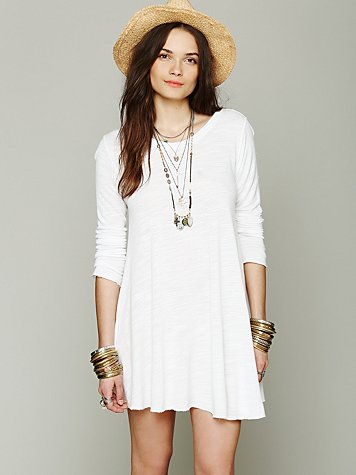 FP Beach Long Sleeve Swing Dress