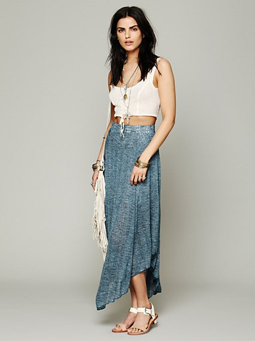 FP Beach Starry Eye Skirt in maxi-skirts