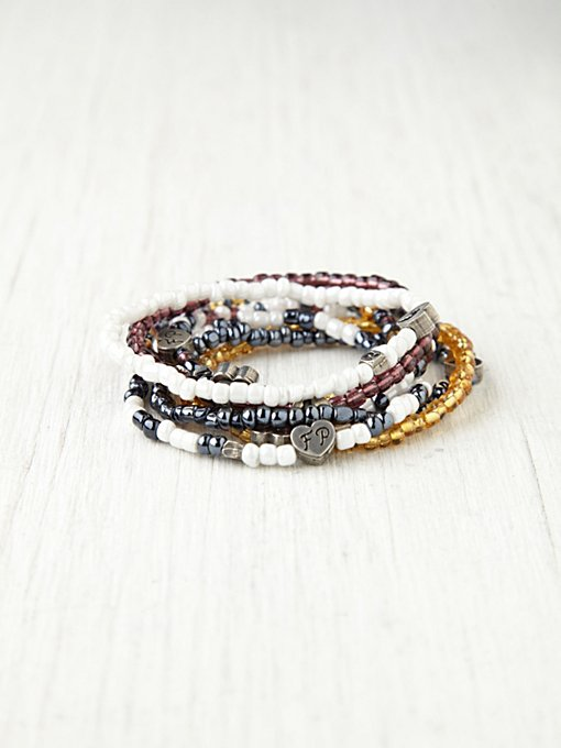 Free People Charity Bracelet Benefiting Ikamva Labantu in accessories-jewelry-bracelets-friendship-wrap