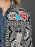 FP New Romantics Geometric Embroidered Jacket
