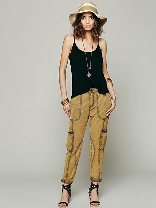 Drapey Utility Pant in clothes-pants
