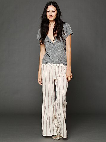 Free People Printed Dobby Lounge Pant