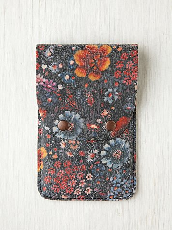 Free People Printed Leather iPhone 4/4S Wallet