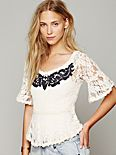 With Flair Lace Top