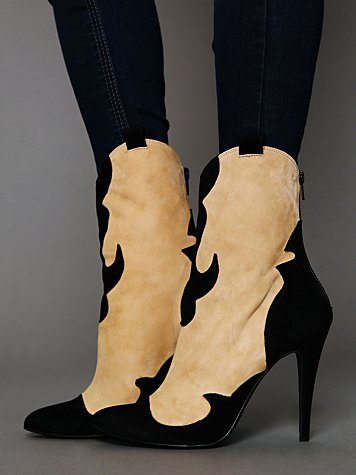 Free People Carousel Heel Boot
