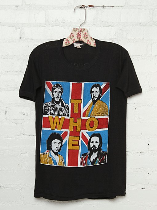 Vintage 1979 The Who Tee in Vintage-Loves-vintage-tees