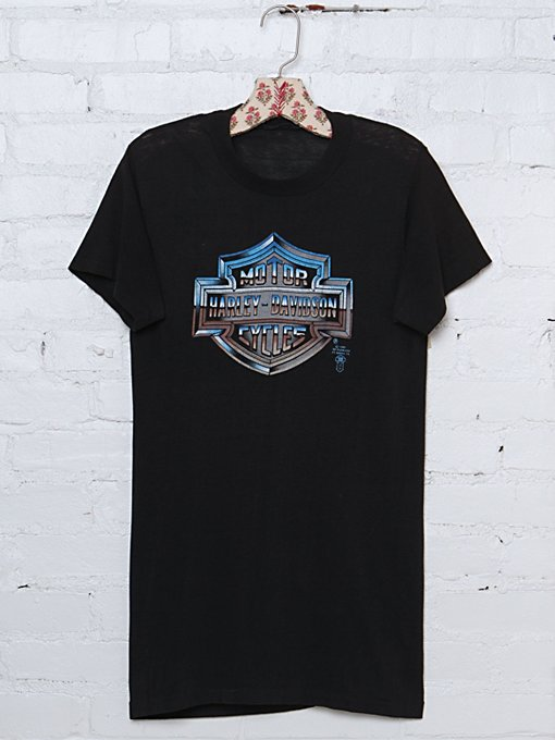 Vintage Harley Davidson Graphic Tee in Vintage-Loves-vintage-tees
