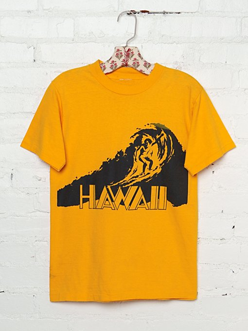 Vintage Hawaii Graphic Tee in Vintage-Loves-vintage-tees