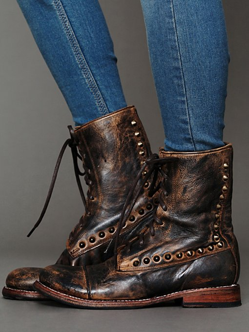 Bed | Stu Stud Bullet Boot in ankle-boots