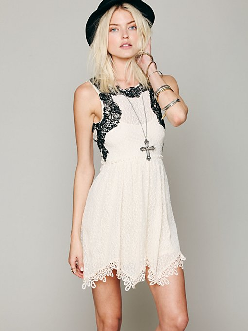 Lace Dream Dress in clothes-dresses-fit-n-flare