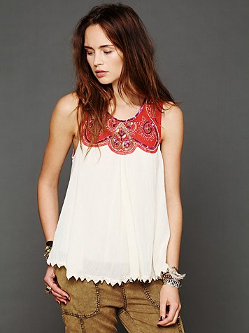 Spun Tales Beaded Top