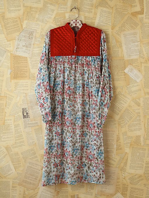 Vintage Floral Printed Boho Dress in Vintage-Loves-dresses