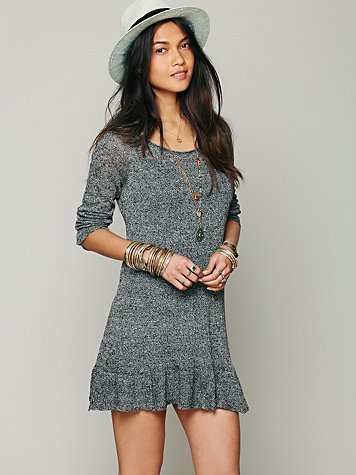 Free People Ruffle Your Hem Tunic