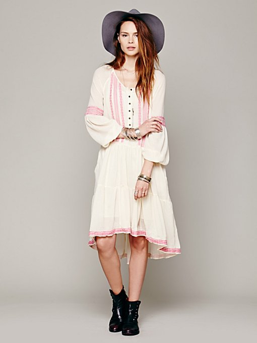 Free People With A Light Heart Dress in Day-Dresses