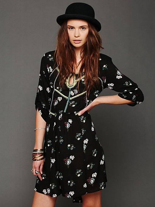 Free People Perfect Day Dress in Floral-Dresses