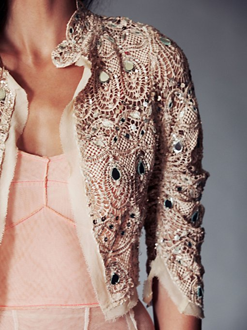 FP One Tear Drop Embellished Jacket
