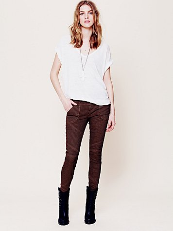 Railroad Seamed Skinny