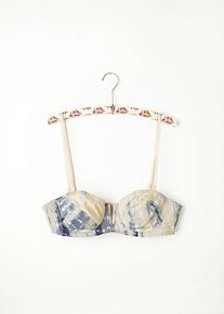 Washed Tie Dye Underwire Bra in intimates-bras