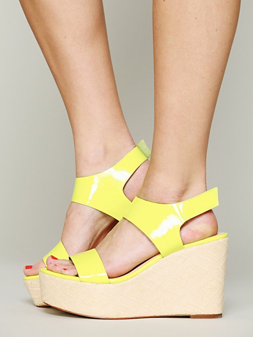 Sol Sana Philly Wedge in ankle-strap-heels
