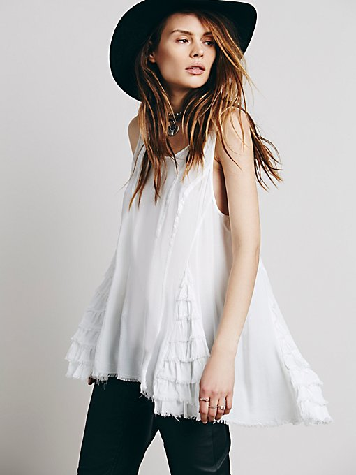 Free People Ruffled Up Cami in layering-clothes