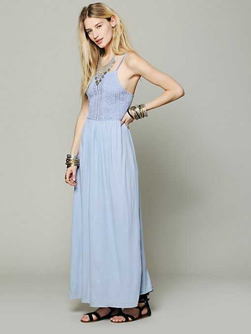Nightcap Apron Beach Maxi in white-maxi-dresses