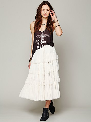 Mes Demoiselles Paris Amy Tiered Skirt