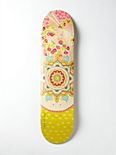 Limited Edition Free People Printed Skateboard