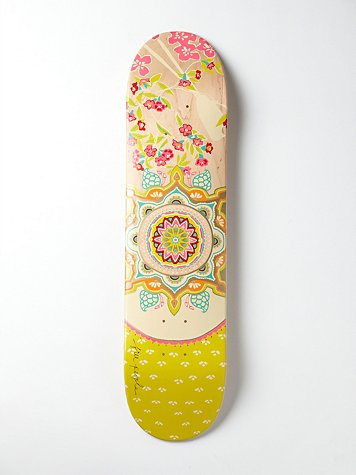 Titan Boards Limited Edition Free People Printed Skateboard