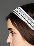 Multi Strap Bead Headband