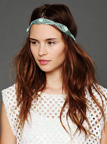 Deepa Gurnani Center Stone Headband