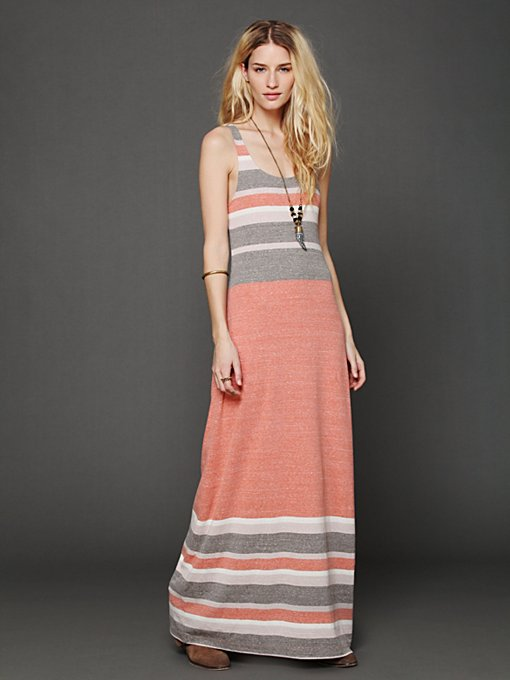 Free People O Maya Maxi Dress in beach-clothes