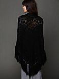 Graphic Fringe Shawl