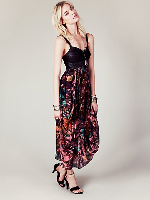 Free People FP New Romantics In Babeland Dress in Floral-Dresses