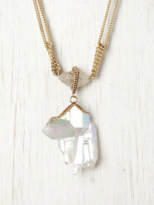 Annie Hammer White Knights Pendant in bib-necklaces
