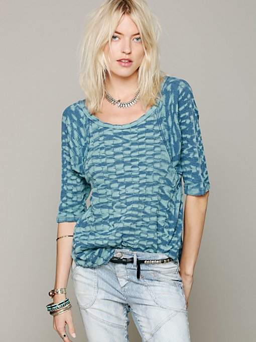 Free People We The Free Fly Away Raglan in knit-tops