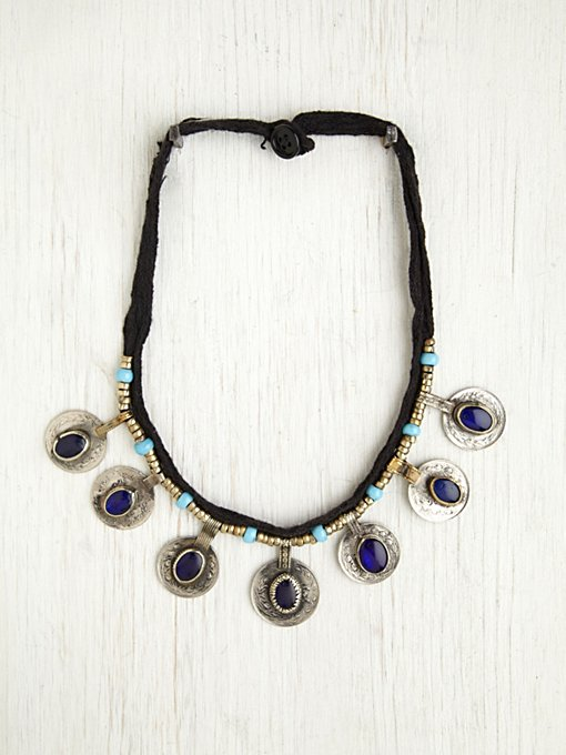 Vintage Kuchi Coin Necklace in accessories-jewelry-necklaces