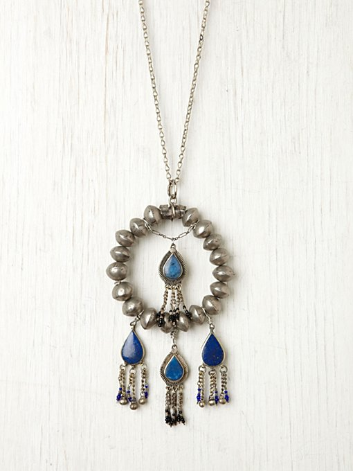 Britt Bolton Lazuli Pendant Necklace in beach-jewelry