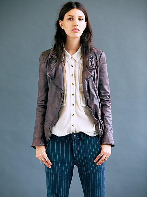 Muubaa  Biker Jacket in faux-leather-jackets