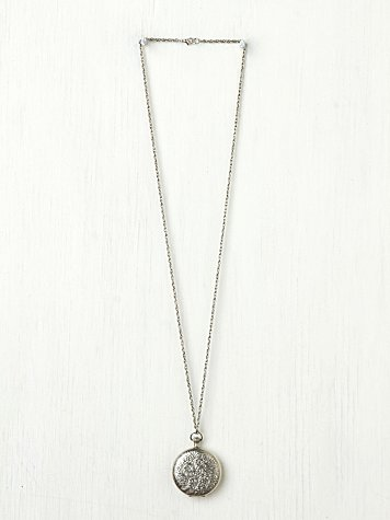 Free People Locket Pendant