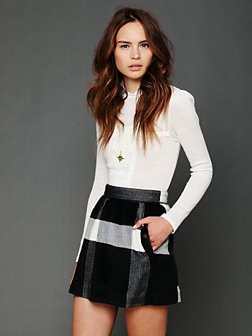 Buffalo Plaid Skirt