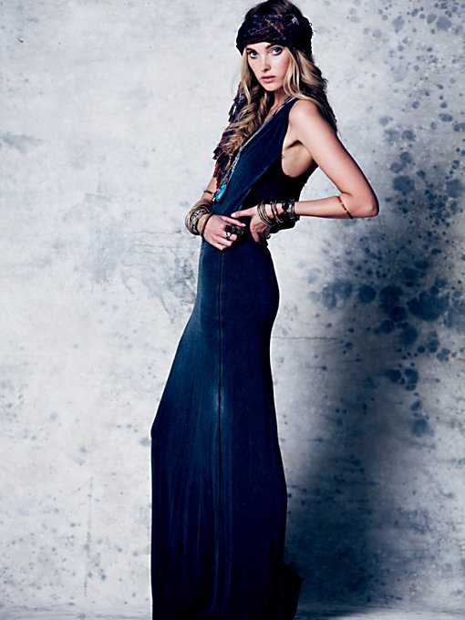 Free People Moonstruck Maxi Dress in black-maxi-dresses