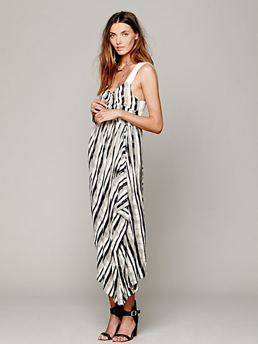 Free People FP New Romantics Waikiki Wrap Dress in petite-maxi-dresses