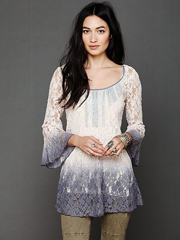 Free People Moonrise Dip Dye Tunic