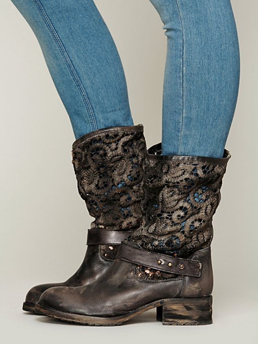 Free People Crochet Beau Boot in Boots