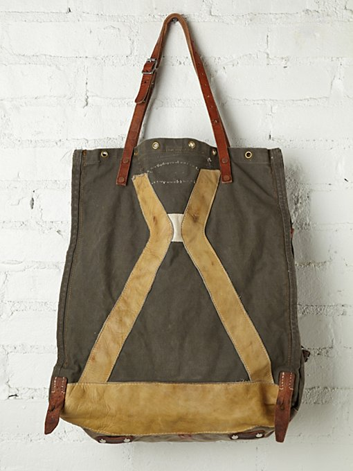 Distressed Cargo Supply Tote