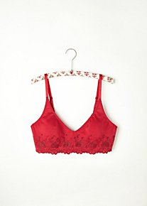 Embroidered Eyelet Underwire Bra in intimates-bras