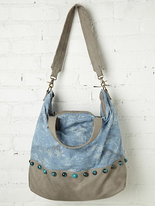 Palm Tree Tote in handbags