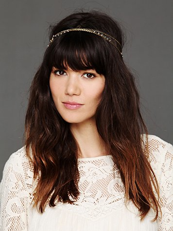 Free People Leaf Motif Headband