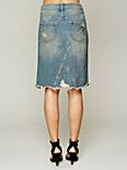 LA Lady Denim Skirt